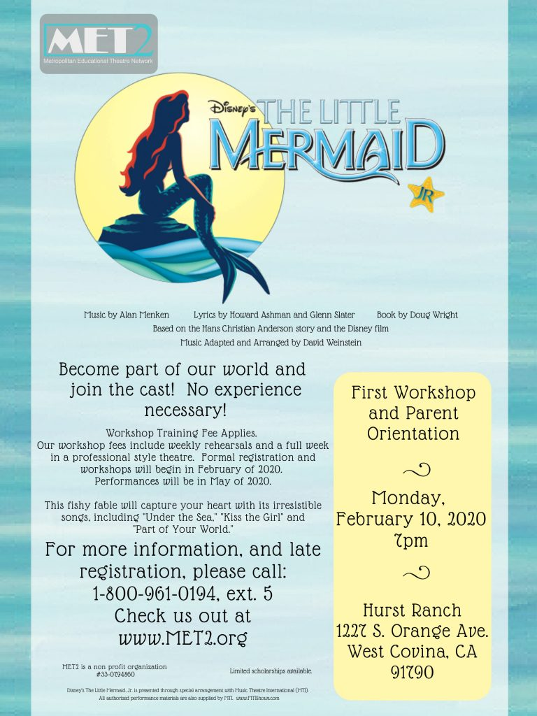 Little Mermaid Reg Covina-1